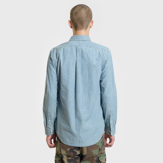 Мужская рубашка Polo Ralph Lauren Classic Fit Oxford Chambray