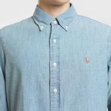 Мужская рубашка Polo Ralph Lauren Classic Fit Oxford Chambray фото- 2