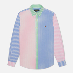 Мужская рубашка Polo Ralph Lauren Classic Fit Oxford Stripe Fun Multicolor