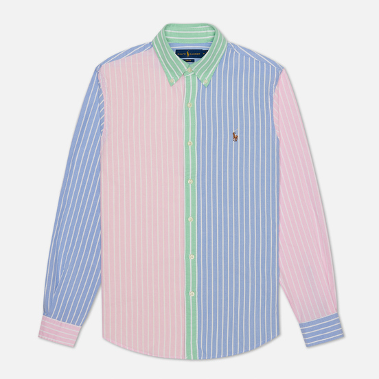 Мужская рубашка Polo Ralph Lauren Silm Fit Oxford Stripe Fun Multicolor