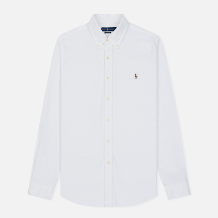 Мужская рубашка Polo Ralph Lauren Classic Fit Oxford White