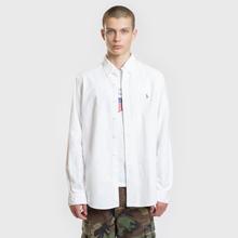 Мужская рубашка Polo Ralph Lauren Classic Fit Oxford White фото- 1