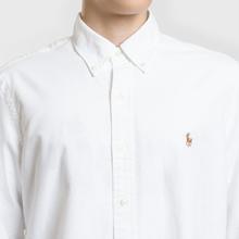 Мужская рубашка Polo Ralph Lauren Classic Fit Oxford White фото- 2