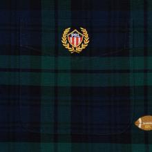 Мужская рубашка Polo Ralph Lauren Classic Fit Plaid Oxford Pine/Navy Multi фото- 2