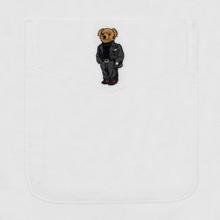 Мужская рубашка Polo Ralph Lauren Custom Fit Bear Brushed Oxford White фото- 3