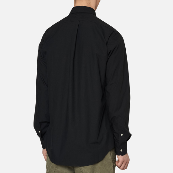 Мужская рубашка Polo Ralph Lauren Custom Fit Polo Pony Color Natural Stretch Poplin Black