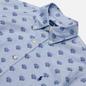 Мужская рубашка Polo Ralph Lauren Custom Fit Polo Pony Color Printed Oxford Collegiate Tigers фото - 1