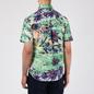 Мужская рубашка Polo Ralph Lauren Custom Fit SS Polo Pony Color Printed Oxford Hawaiian Beach Bazaar фото - 3