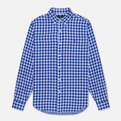Мужская рубашка Polo Ralph Lauren Double Face Oxford Blue/White