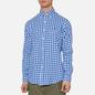 Мужская рубашка Polo Ralph Lauren Double Face Oxford Blue/White фото - 3