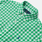 Мужская рубашка Polo Ralph Lauren Double Face Oxford Green/White фото - 1