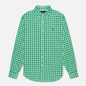 Мужская рубашка Polo Ralph Lauren Double Face Oxford Green/White фото - 0