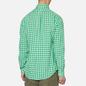 Мужская рубашка Polo Ralph Lauren Double Face Oxford Green/White фото - 4