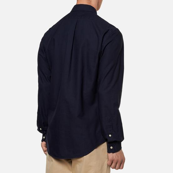 Мужская рубашка Polo Ralph Lauren Garment Dyed Oxford Slim Fit Navy