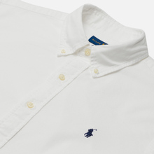 Мужская рубашка Polo Ralph Lauren Garment Dyed Oxford White фото- 3