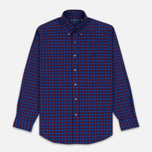 Мужская рубашка Polo Ralph Lauren Light Weight Twill Button Down Crimson/Royal Multi фото- 0