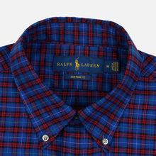 Мужская рубашка Polo Ralph Lauren Light Weight Twill Button Down Crimson/Royal Multi фото- 1