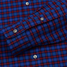 Мужская рубашка Polo Ralph Lauren Light Weight Twill Button Down Crimson/Royal Multi фото- 3