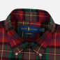 Мужская рубашка Polo Ralph Lauren Light Weight Twill Button Down Firebrick/Green Multi фото - 1