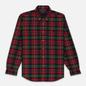 Мужская рубашка Polo Ralph Lauren Light Weight Twill Button Down Firebrick/Green Multi фото - 0