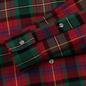 Мужская рубашка Polo Ralph Lauren Light Weight Twill Button Down Firebrick/Green Multi фото - 3