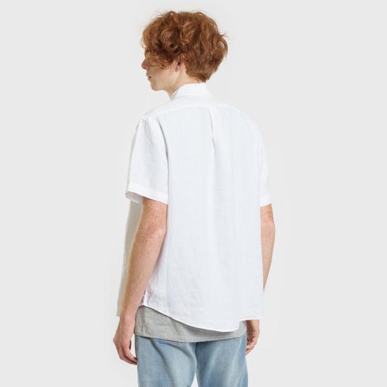 Мужская рубашка Polo Ralph Lauren Oxford Linen Slim Fit Pure White