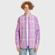 Мужская рубашка Polo Ralph Lauren Oxford Plaid Horizon Pink/Blue Multi фото- 1