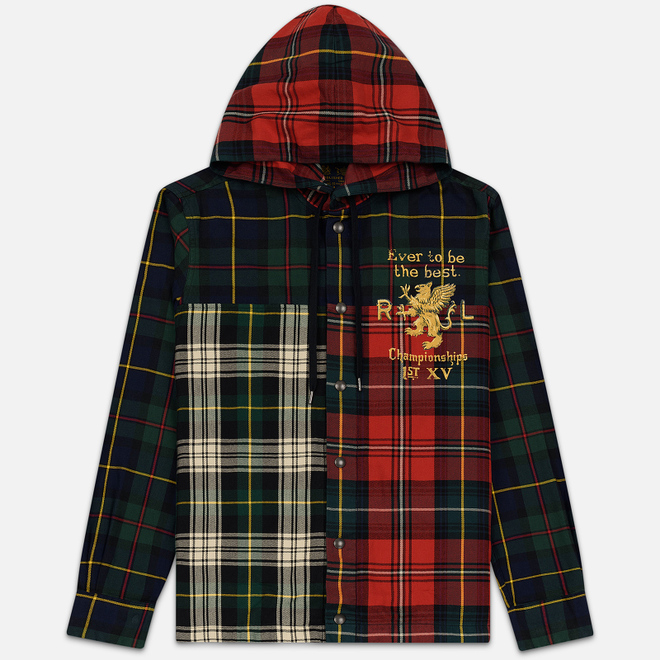 Мужская рубашка Polo Ralph Lauren Oxford Williamsburg Hoodie Multicolor