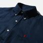 Мужская рубашка Polo Ralph Lauren Piece Dye Linen Newport Navy фото - 1