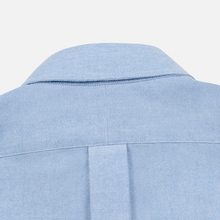 Мужская рубашка Polo Ralph Lauren Polo Bear Embroidered Pocket Oxford Blue фото- 4