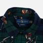 Мужская рубашка Polo Ralph Lauren Printed Corduroy Button Down Blackwatch Bears фото - 1