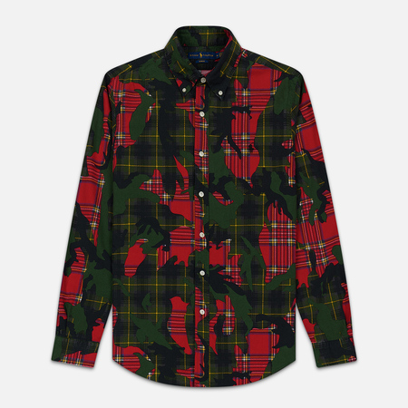 Мужская рубашка Polo Ralph Lauren Printed Oxford Stuart Camo