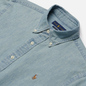 Мужская рубашка Polo Ralph Lauren Slim Fit Chambray Light Indigo фото - 1
