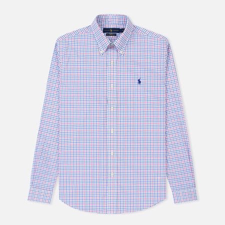 Мужская рубашка Polo Ralph Lauren Slim Fit Natural Stretch Poplin Blush/Navy