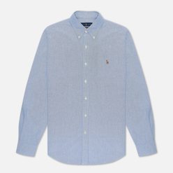 Мужская рубашка Polo Ralph Lauren Slim Fit Oxford Blue