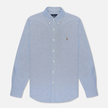Мужская рубашка Polo Ralph Lauren Slim Fit Oxford Blue фото- 3