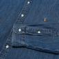 Мужская рубашка Polo Ralph Lauren Slim Fit Oxford Denim фото - 2