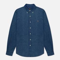 Мужская рубашка Polo Ralph Lauren Slim Fit Oxford Denim