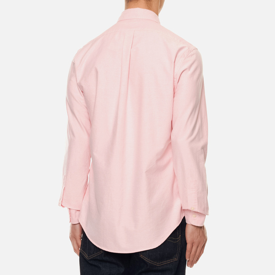 Мужская рубашка Polo Ralph Lauren Slim Fit Oxford Pink