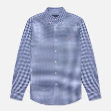 Мужская рубашка Polo Ralph Lauren Slim Fit Oxford Royal/White фото- 0