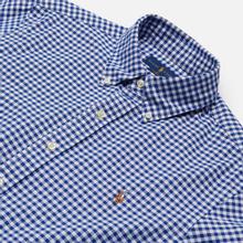Мужская рубашка Polo Ralph Lauren Slim Fit Oxford Royal/White фото- 1