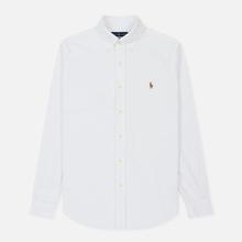 Мужская рубашка Polo Ralph Lauren Slim Fit Oxford White фото- 0