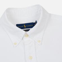 Мужская рубашка Polo Ralph Lauren Slim Fit Oxford White фото- 1