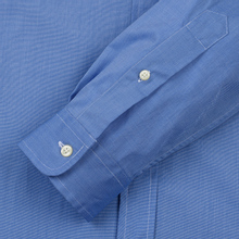 Мужская рубашка Polo Ralph Lauren Slim Fit Stretch Poplin Blue фото- 3