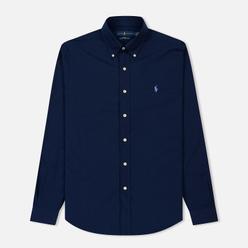 Мужская рубашка Polo Ralph Lauren Slim Fit Stretch Poplin Navy