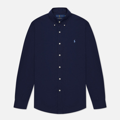 Мужская рубашка Polo Ralph Lauren Slim Fit Stretch Poplin Navy