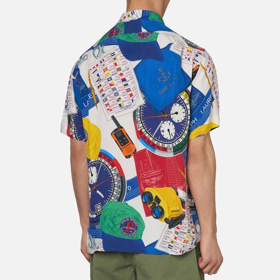 Мужская рубашка Polo Ralph Lauren The Nautical Racing Camp Navigational Scarf
