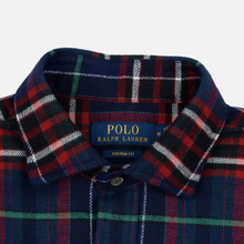 Мужская рубашка Polo Ralph Lauren Twill Plaid Crown Royal/Blanc Multi фото- 1