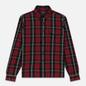 Мужская рубашка Polo Ralph Lauren Twill Plaid Elbow Patch Lamb Suede Vibe Red/Tan Multi фото - 0