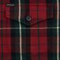 Мужская рубашка Polo Ralph Lauren Twill Plaid Elbow Patch Lamb Suede Vibe Red/Tan Multi фото - 2